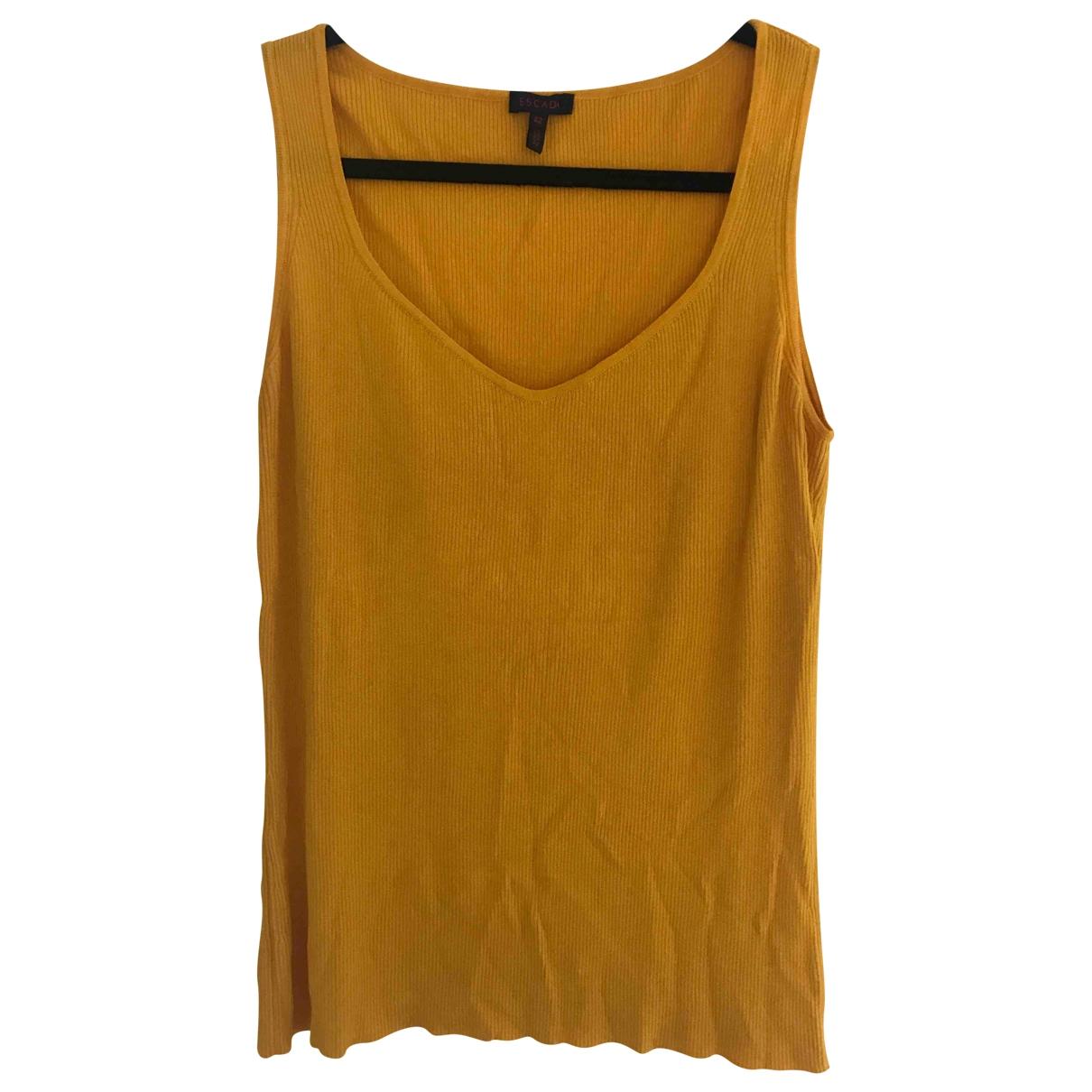 Escada - Top   pour femme - jaune
