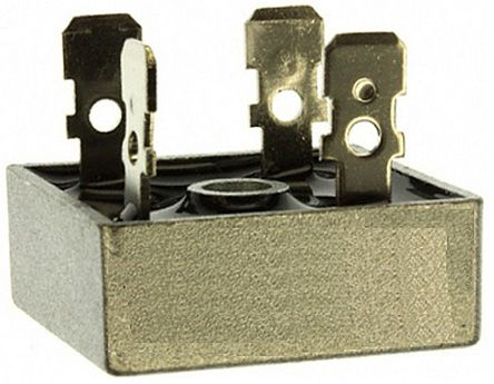 HY Electronic Corp KBPC2510, Bridge Rectifier, 25A 1000V, 4-Pin KBPC (50)
