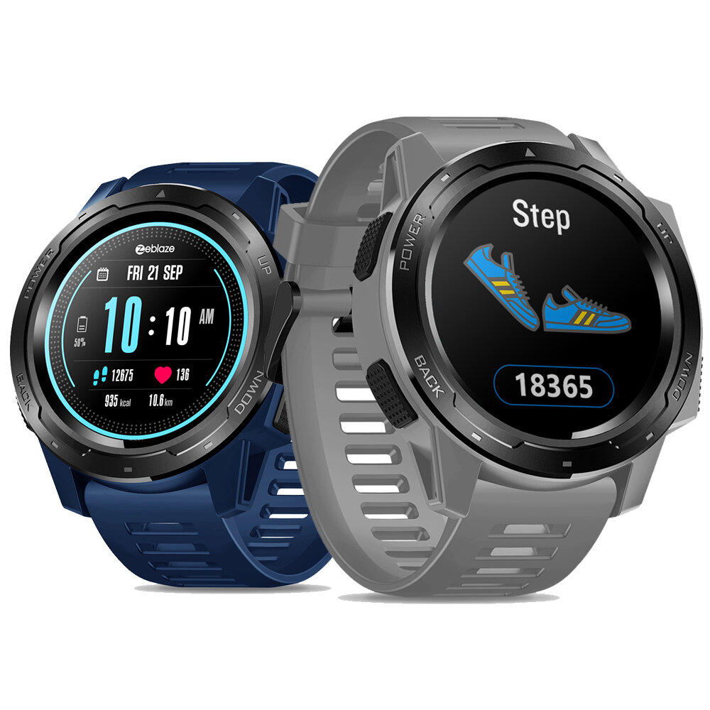 Zeblaze VIBE 5 GREENCELL Heart Rate Monitor Target Setting Multi-sport Modes 1.3inch IPS Full-round Color Display Sport