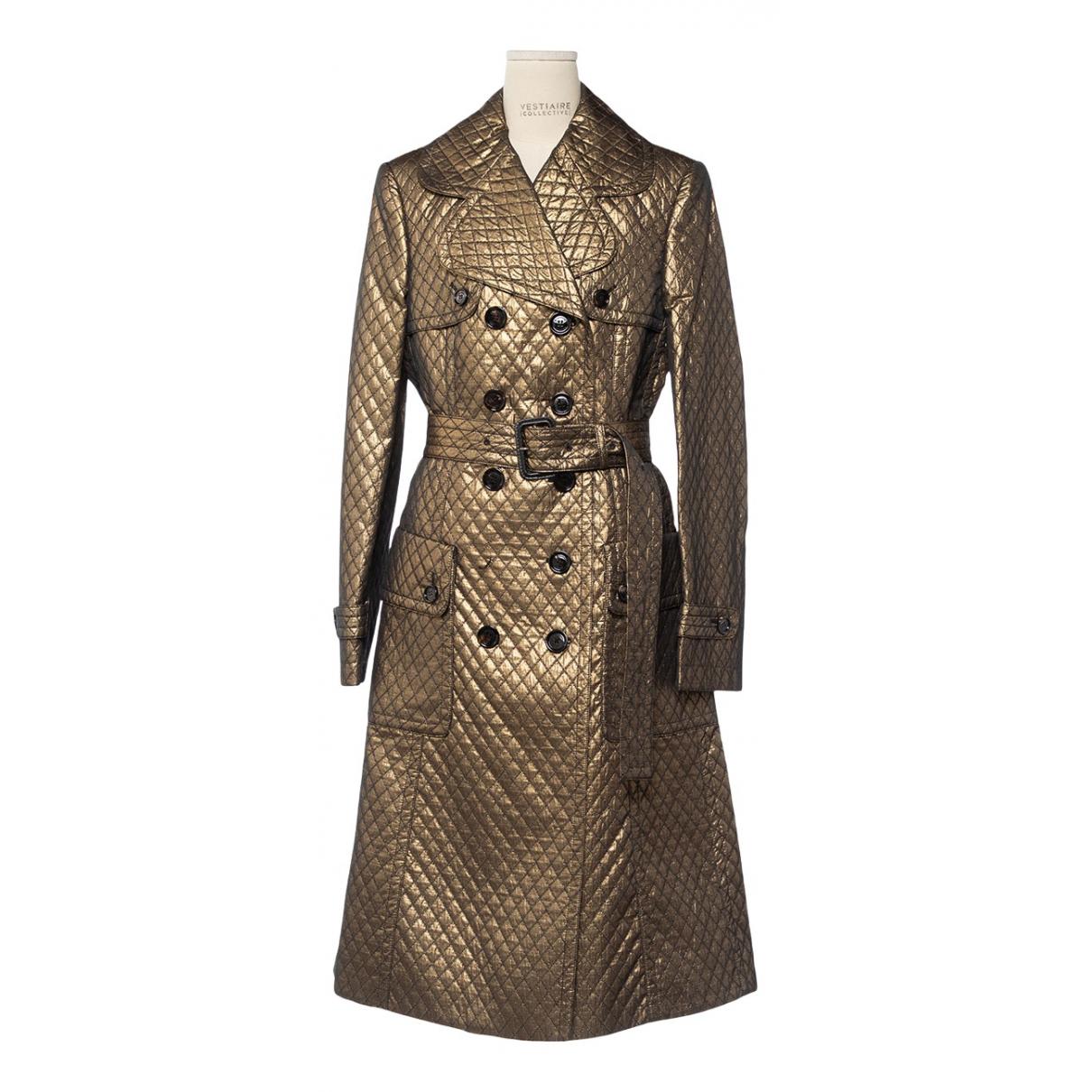 Burberry - Manteau   pour femme - dore