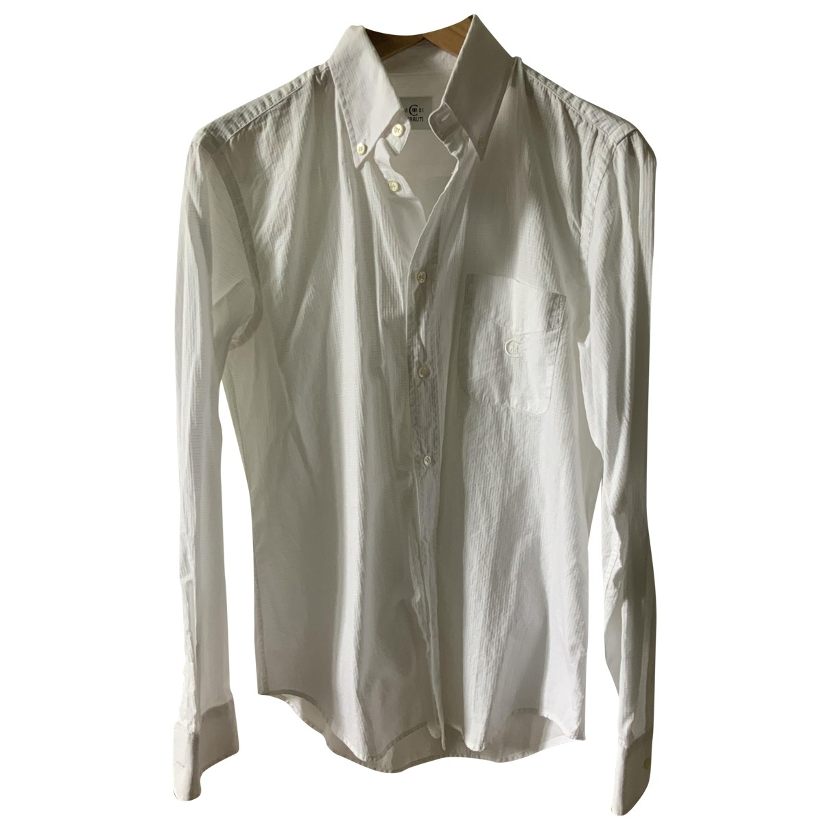 Cerruti \N White Cotton Shirts for Men S International