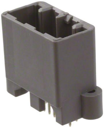 JAE , MX34, 12 Way, 2 Row, Straight PCB Header