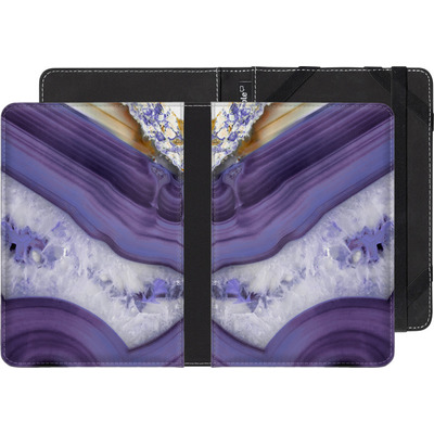 Amazon Kindle Paperwhite 3G eBook Reader Huelle - Purple Agate von Emanuela Carratoni