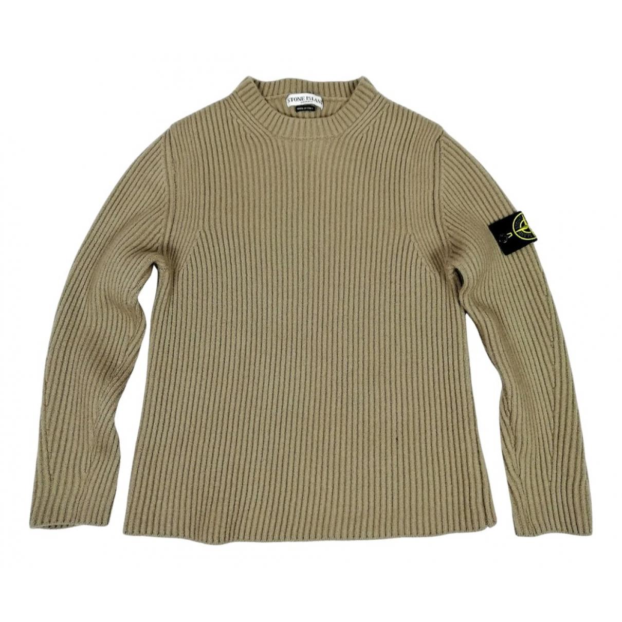 Stone N Beige Wool Knitwear & Sweatshirts for Men S International