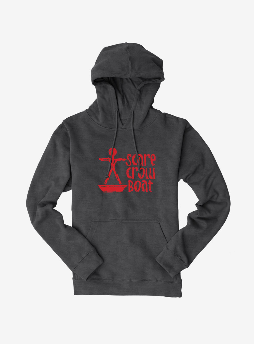 Parks And Recreation Scarecrow Boat Logo Hoodie