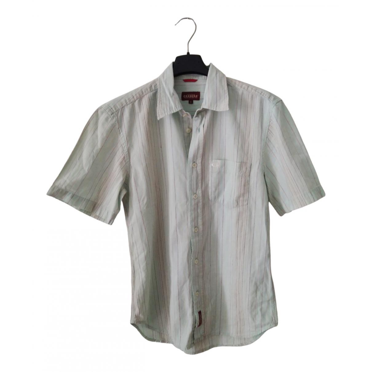 Carrera - Chemises   pour homme en coton - vert