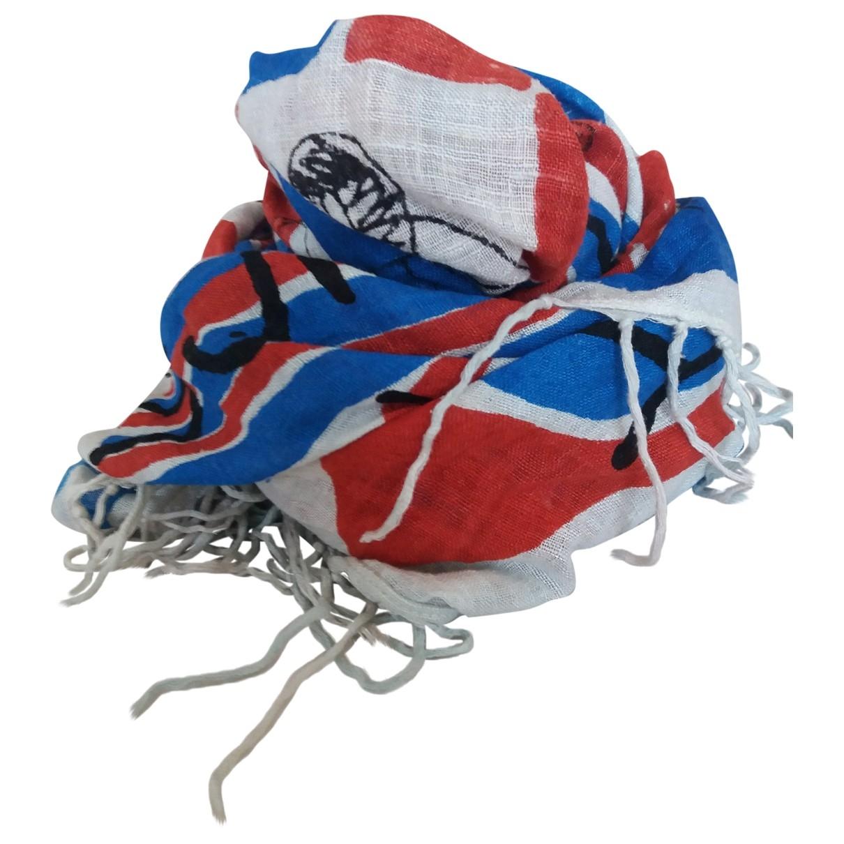 Isabel Marant \N Blue Silk scarf for Women \N
