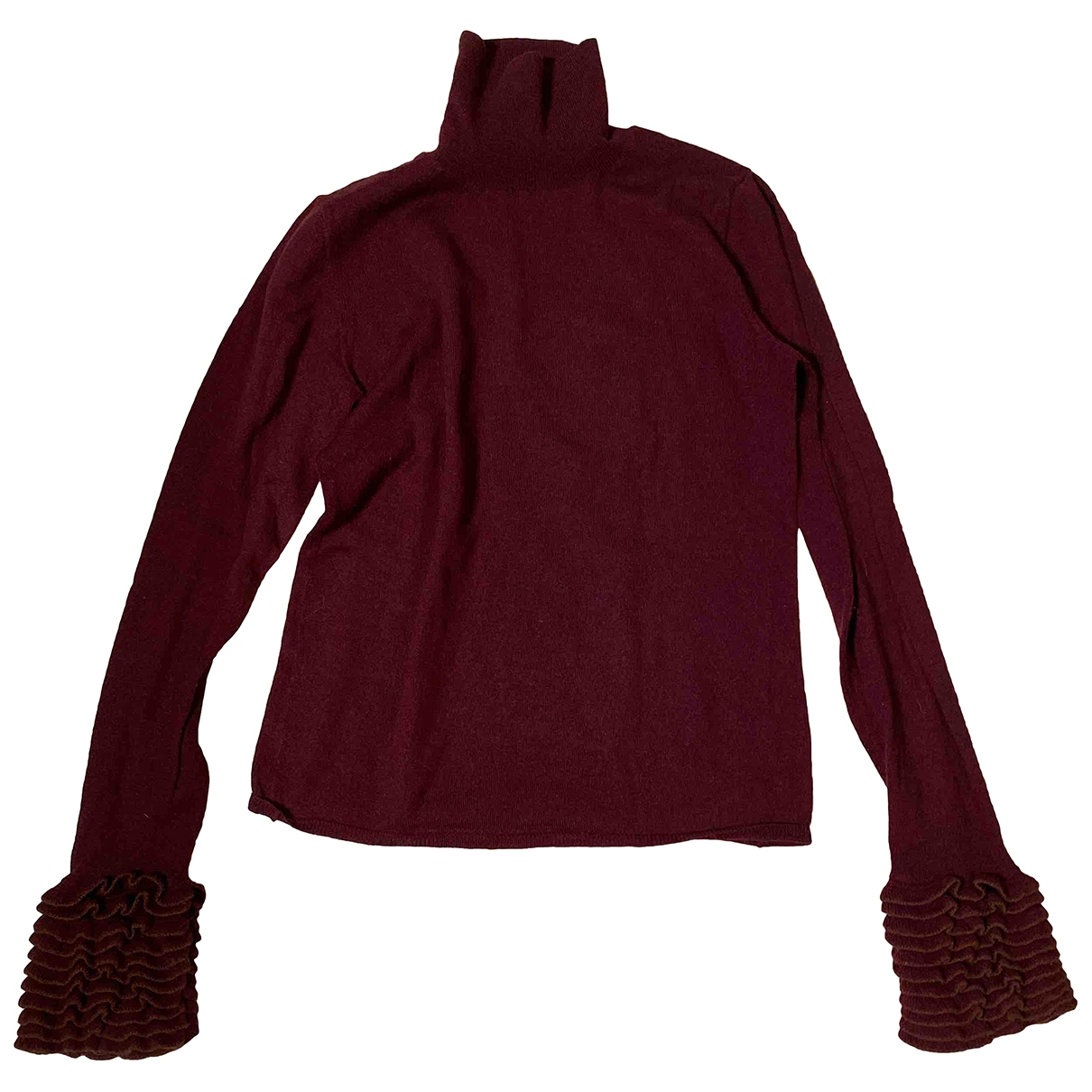 Dkny \N Burgundy Wool Knitwear for Women M International