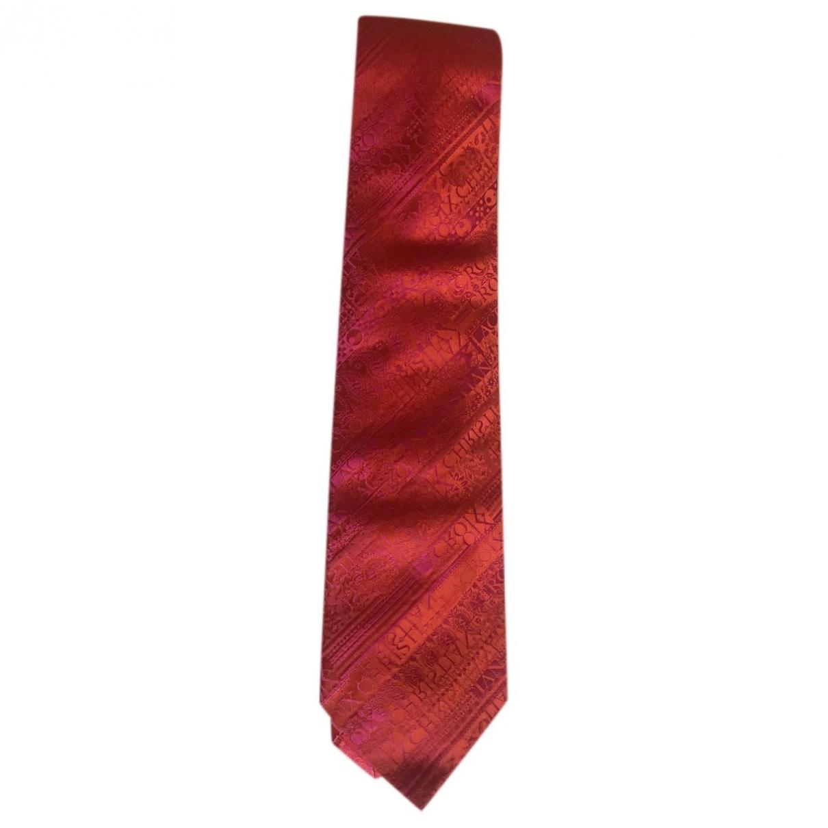 Christian Lacroix - Cravates   pour homme en soie - orange