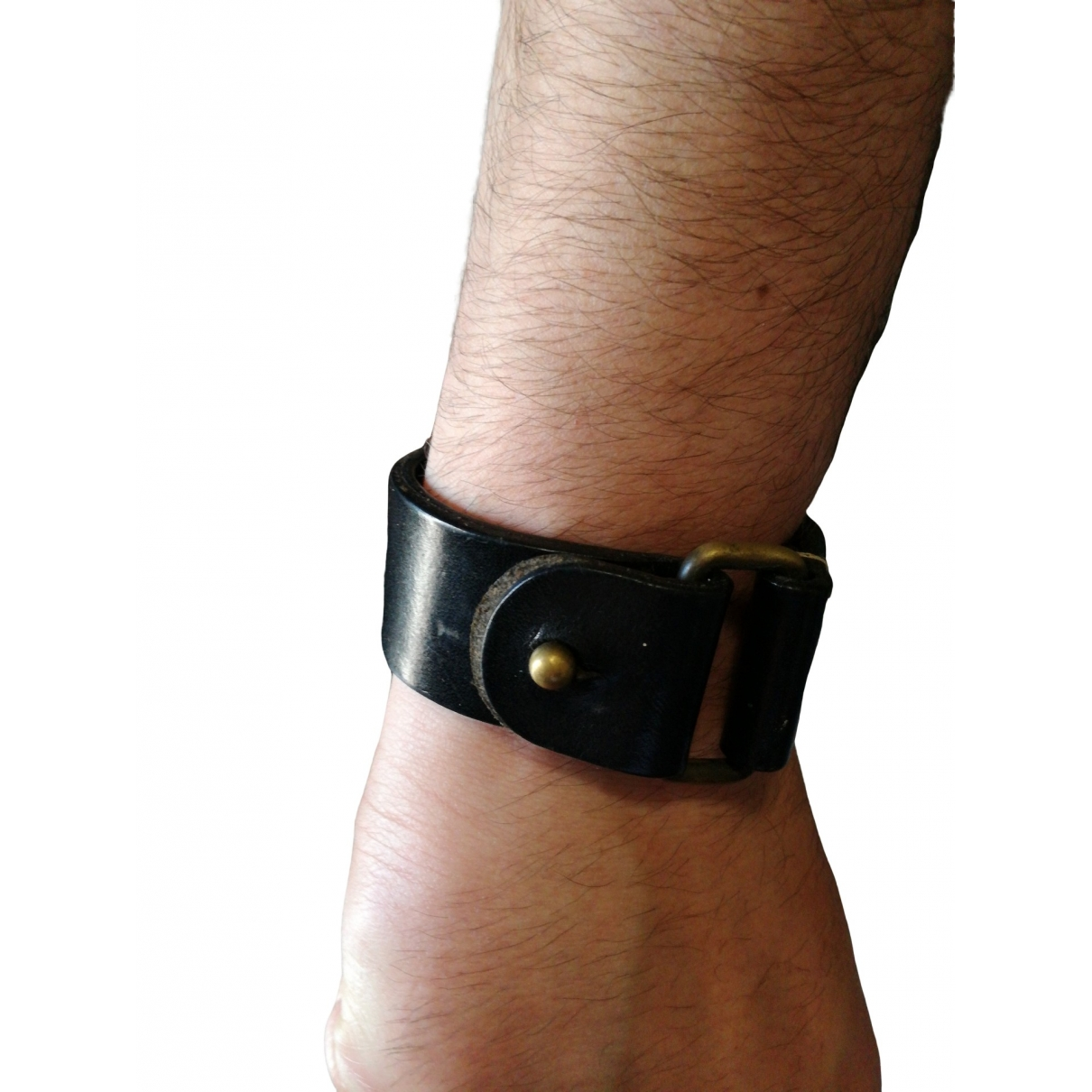 Maison Martin Margiela \N Black Leather Jewellery for Men \N