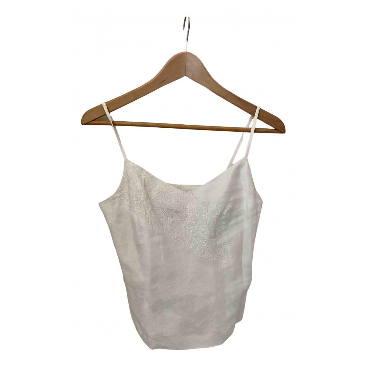 Kenzo - Top   pour femme en coton - blanc