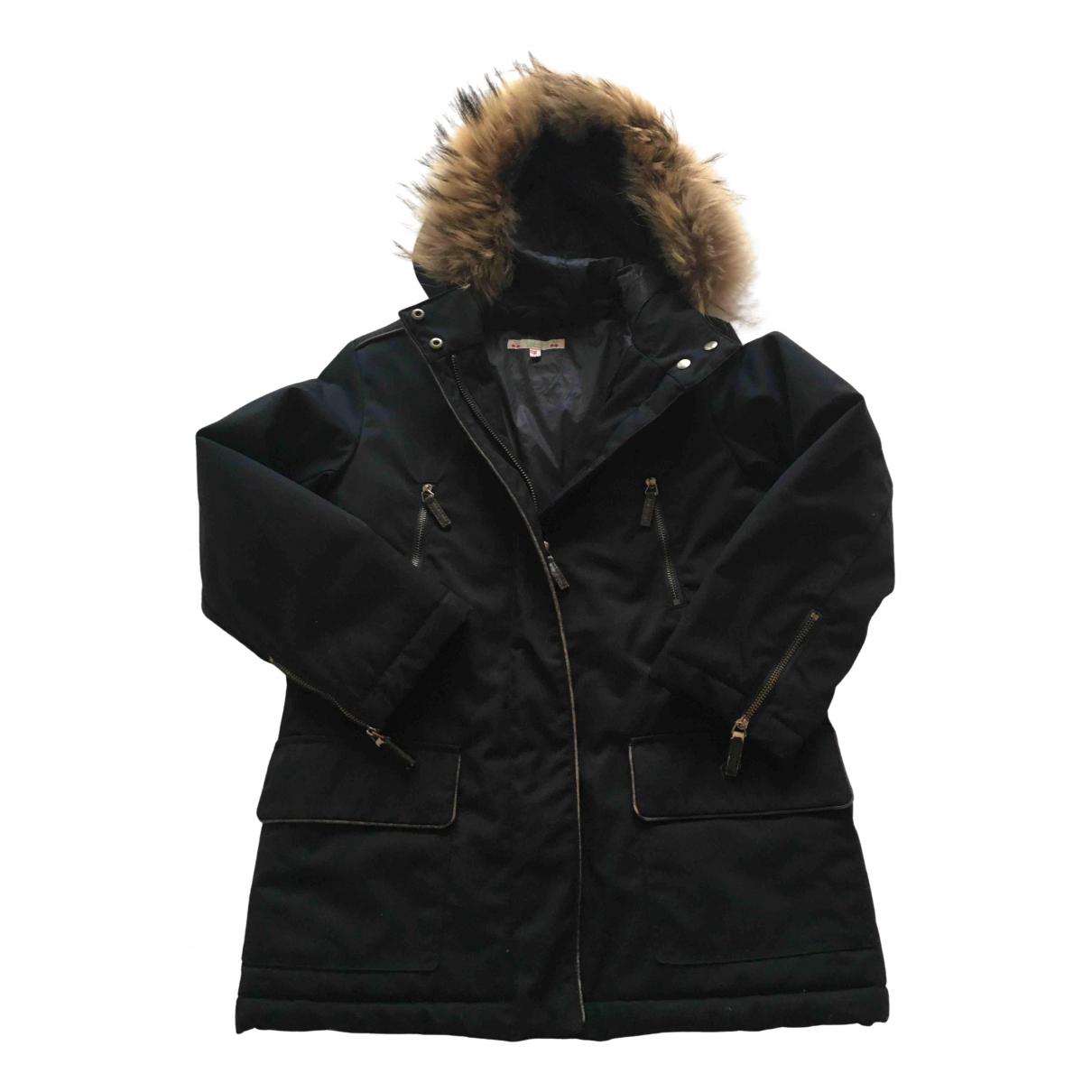 Bonpoint - Blousons.Manteaux   pour enfant en coton - marine