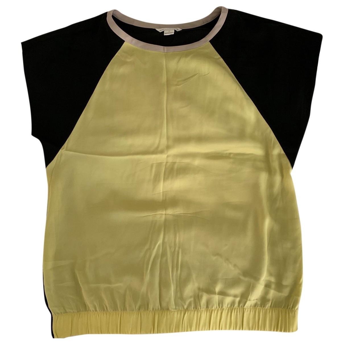 Diane Von Furstenberg \N Top in  Gelb Seide