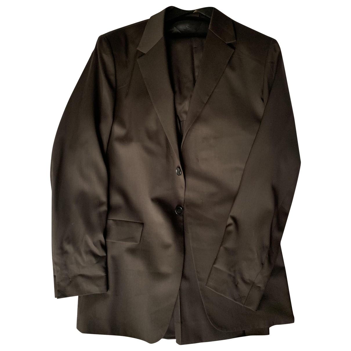 Cos - Costumes   pour homme en laine - marron
