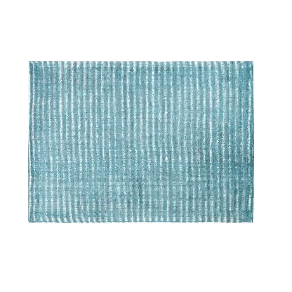 Teppich in Petrolblau 160x230