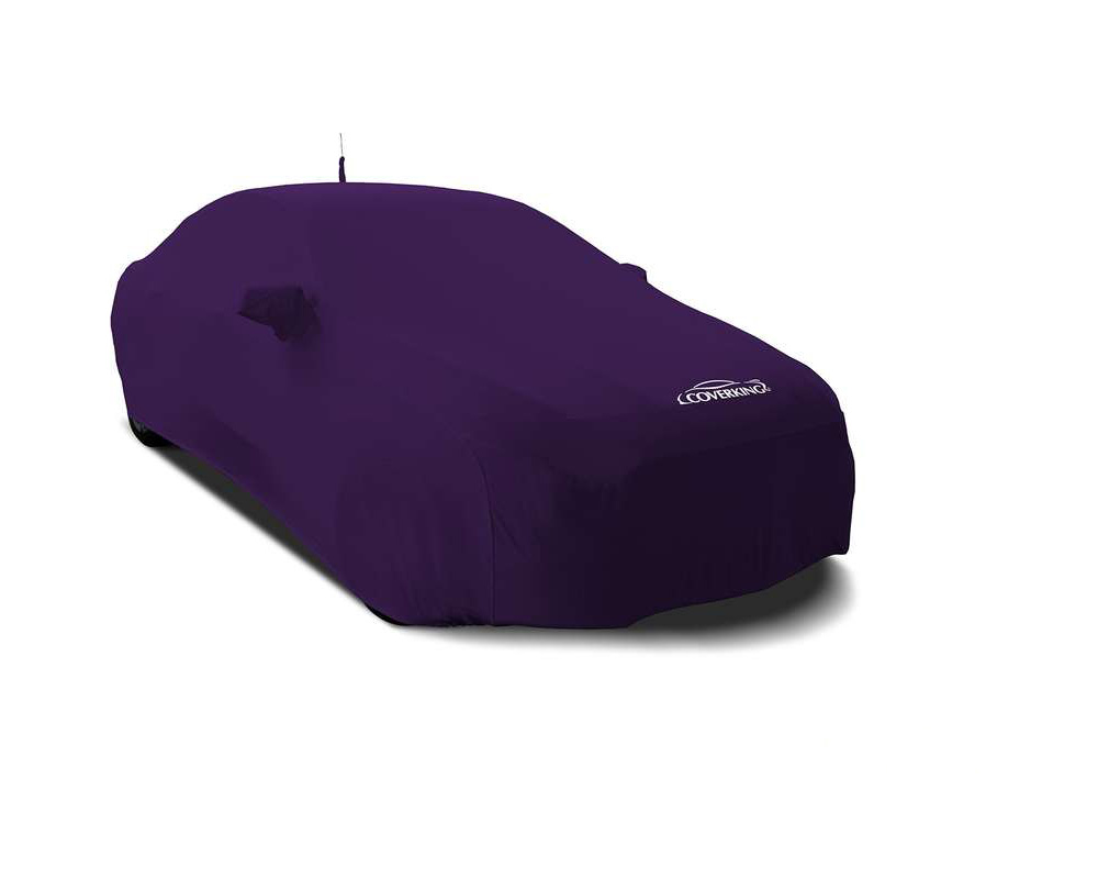 Coverking CVC2SS97AC9367 CVC2SS97 Satin Stretch Plum Crazy Purple Custom Car Cover Acura NSX 2016-2021