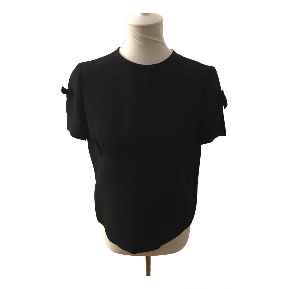 Miu Miu - Top   pour femme en coton - noir