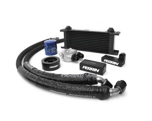 Perrin PSP-OIL-100 Oil Cooler Kit Subaru WRX 02-14