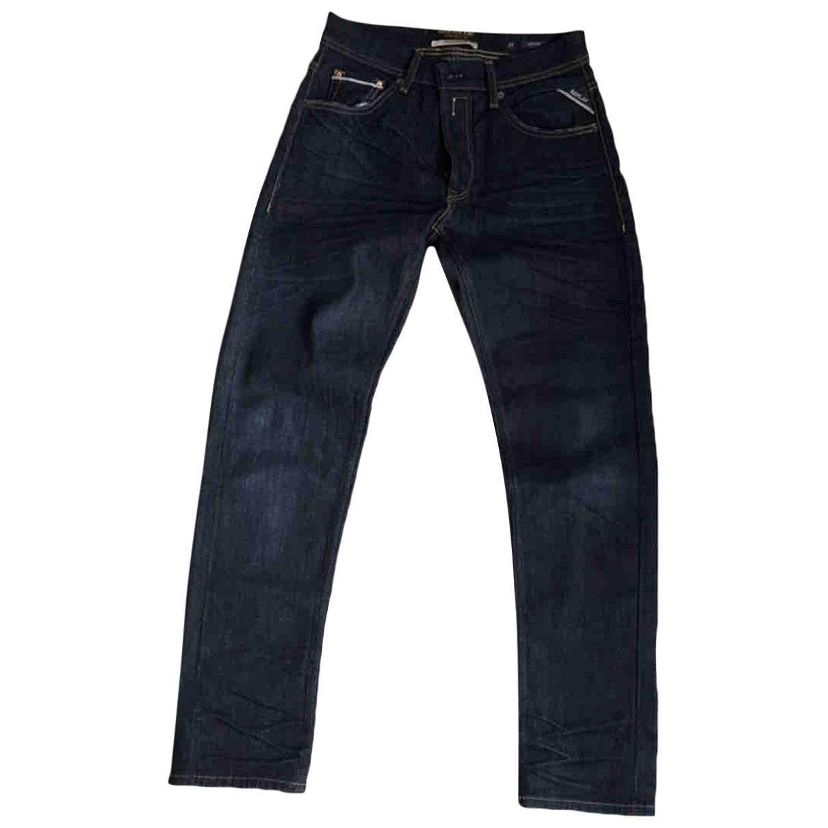 Replay \N Blue Cotton Jeans for Men 29 US