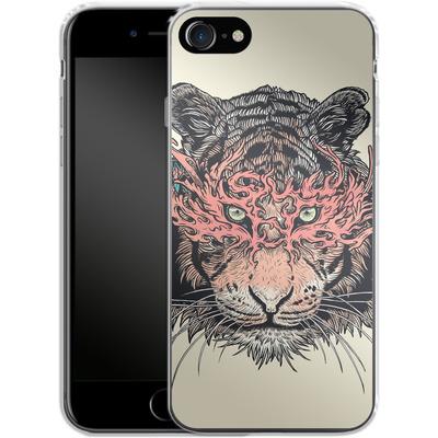 Apple iPhone 7 Silikon Handyhuelle - Masked Tiger von Mat Miller