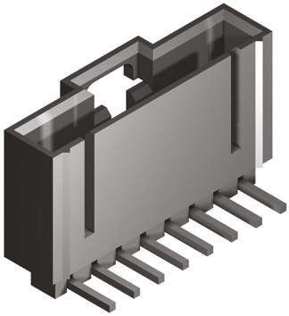 Molex , SL, 70553, 4 Way, 1 Row, Right Angle PCB Header (5)