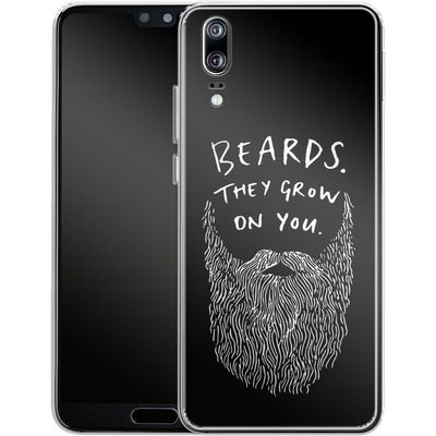 Huawei P20 Silikon Handyhuelle - Grow On You von caseable Designs