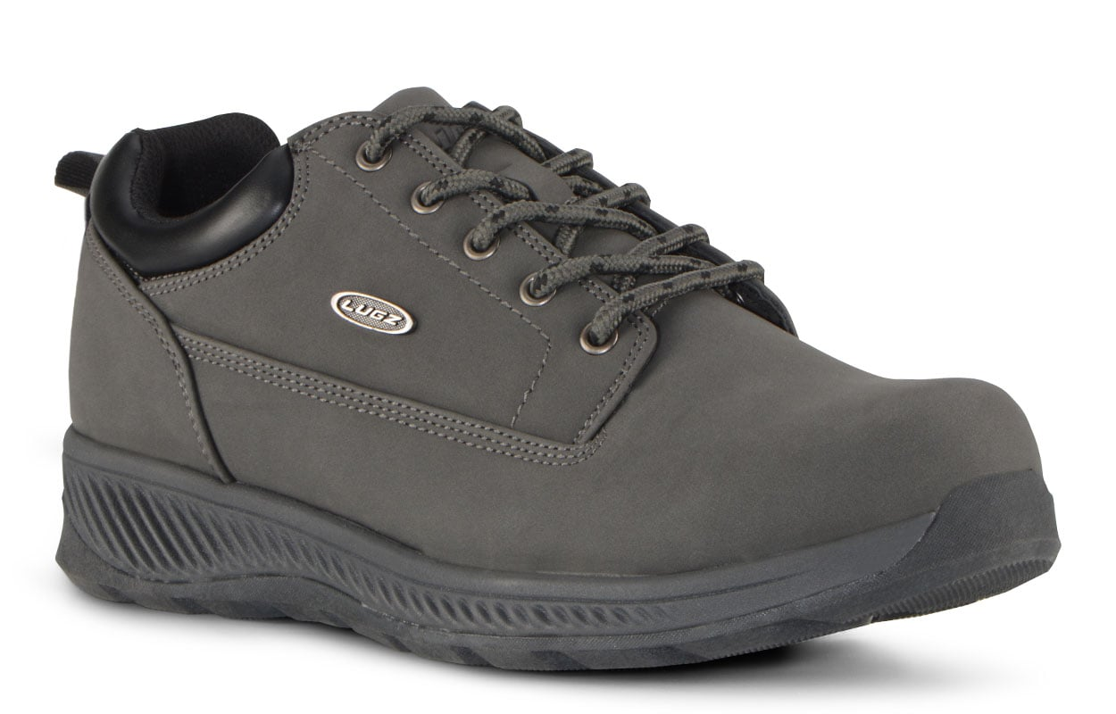 Men's Bison Lo Oxford Sneaker (Choose Your Color: DK GREY/GREY/L GREY, Choose Your Size: 11.0)