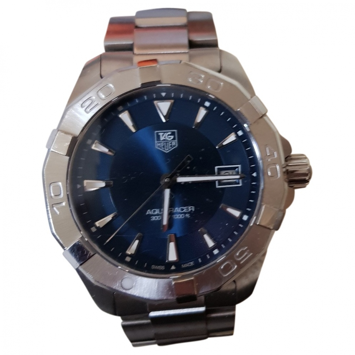 Tag Heuer Aquaracer  Blue Steel watch for Men \N