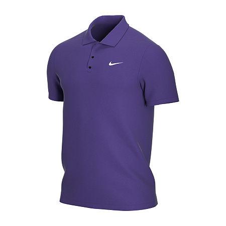 Nike Big and Tall Mens Short Sleeve Polo Shirt, 4x-large , Purple