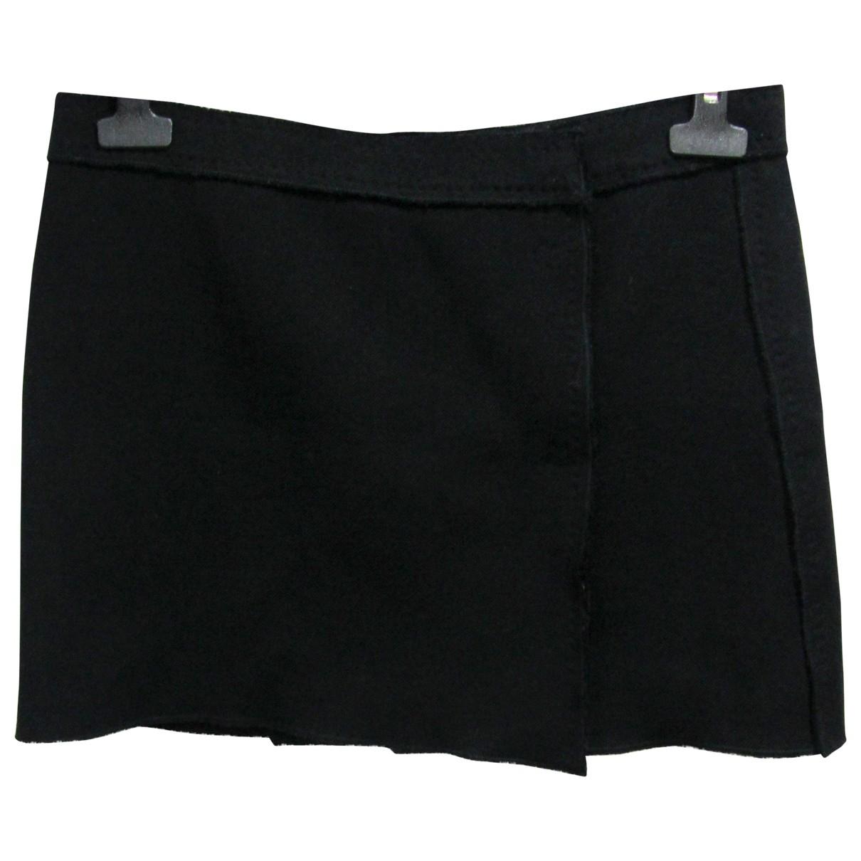 D&g - Jupe   pour femme en laine - noir