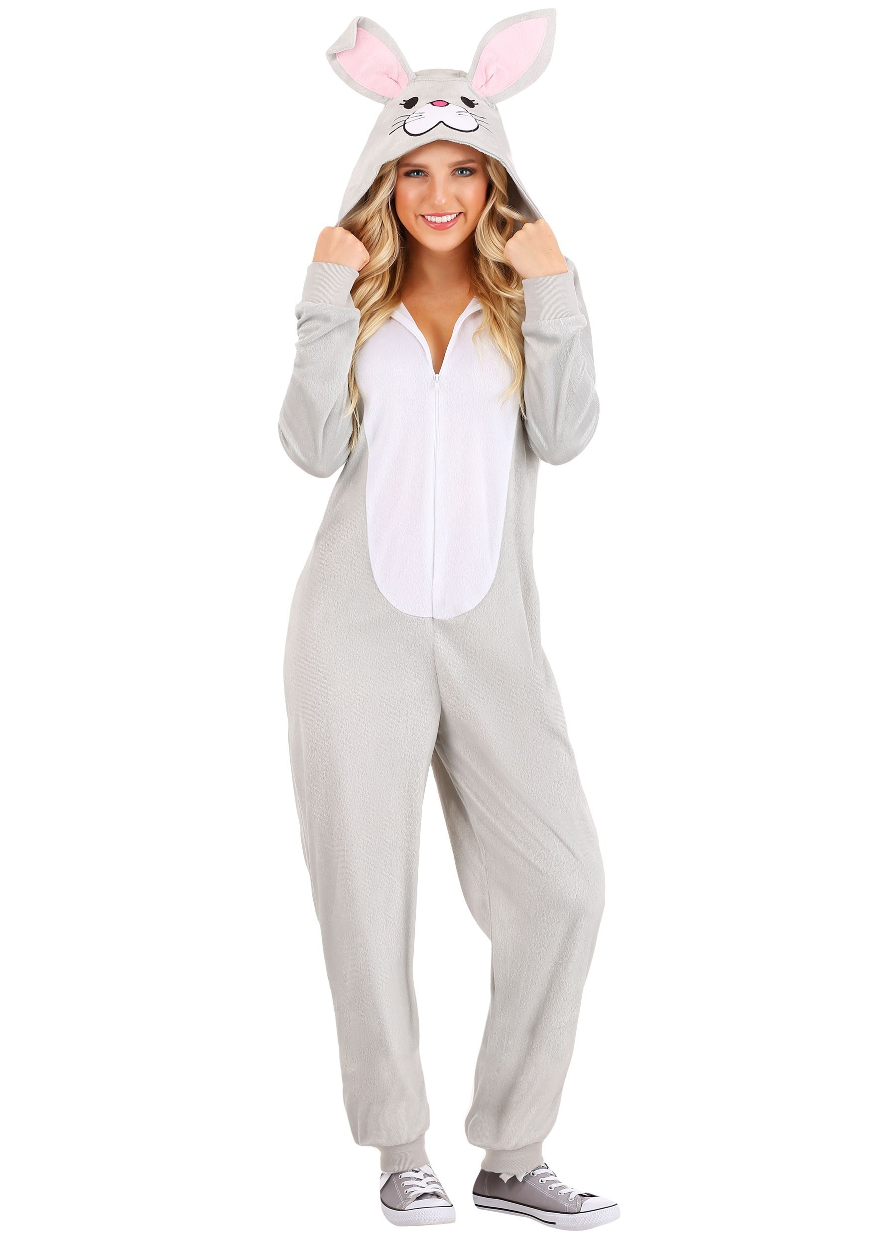 Funny Bunny Onesie for Adults