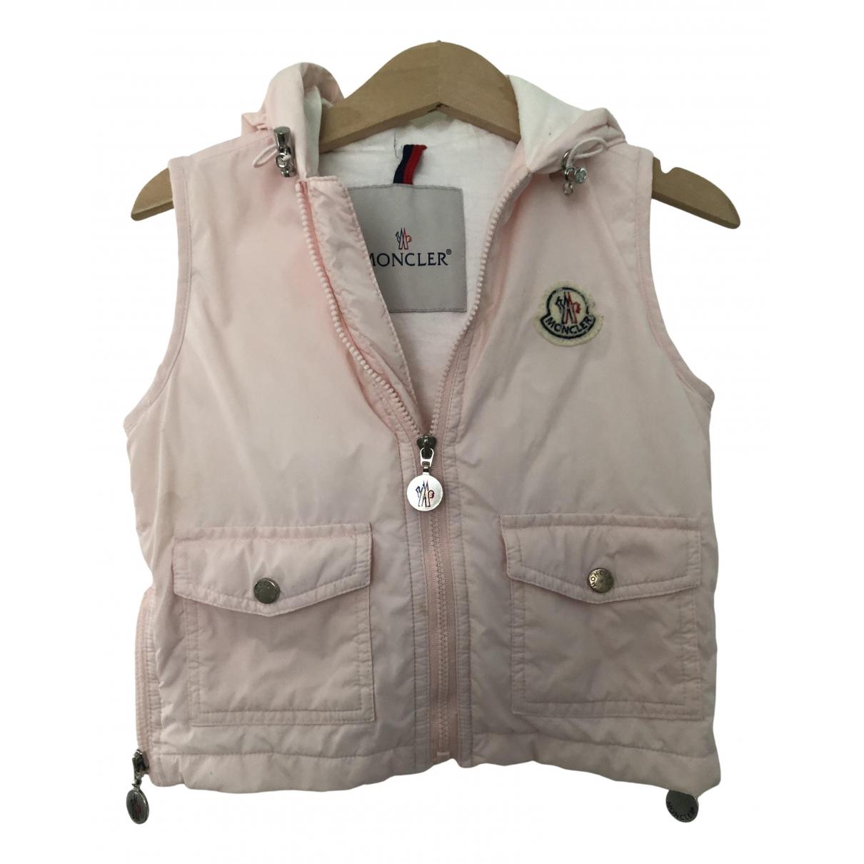 Moncler - Blousons.Manteaux Classic pour enfant - rose