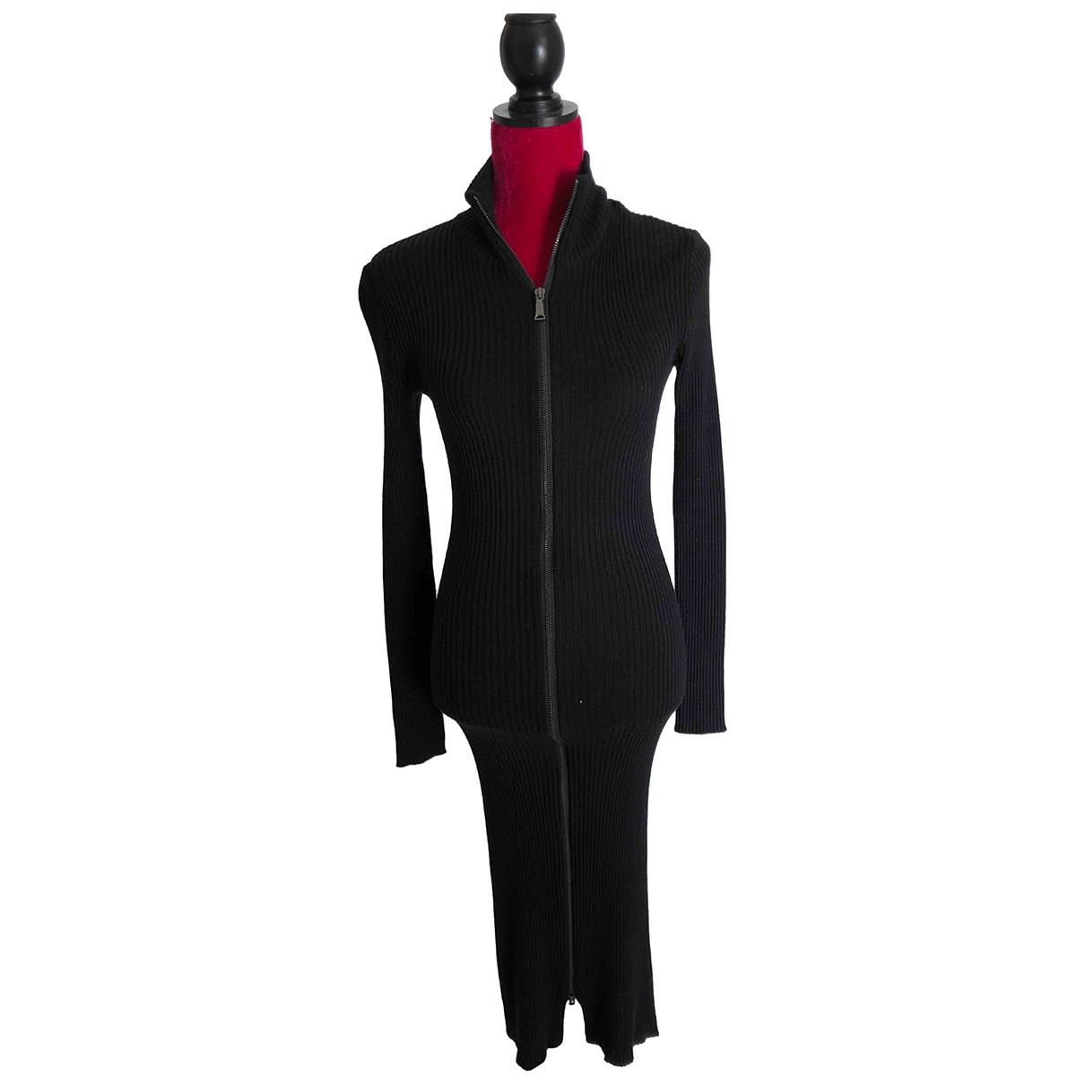 John Richmond \N Kleid in  Schwarz Wolle