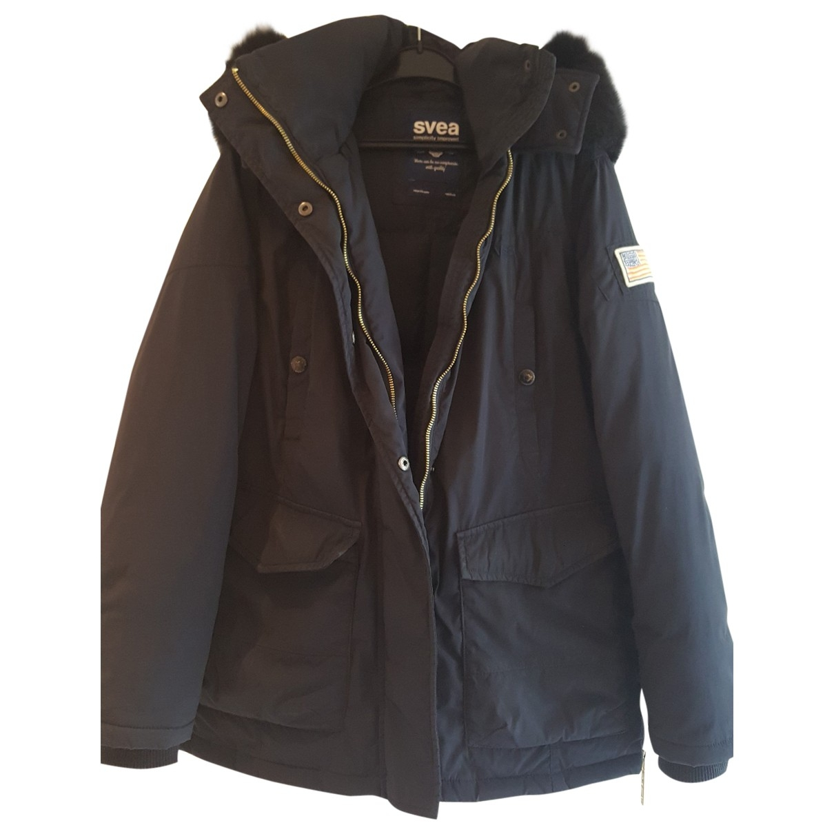 Non Signé / Unsigned \N Blue jacket for Women M International