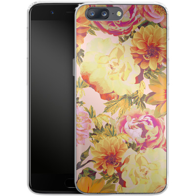 OnePlus 5 Silikon Handyhuelle - Tropicana Bouquet von Zala Farah