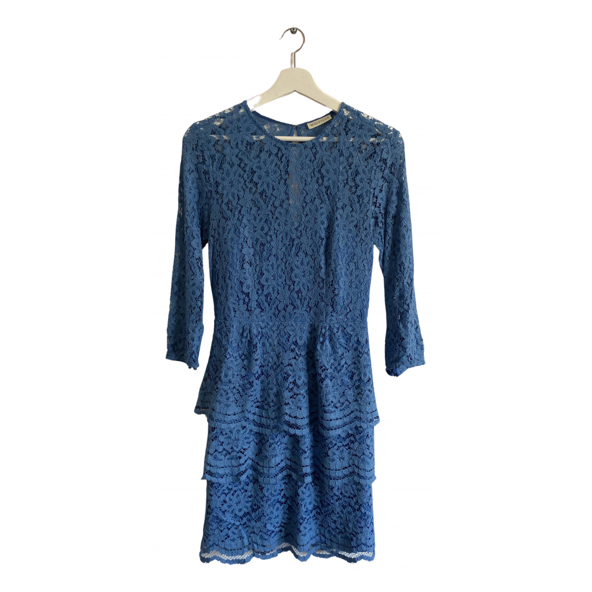 Whistles N Blue Lace dress for Women 10 UK