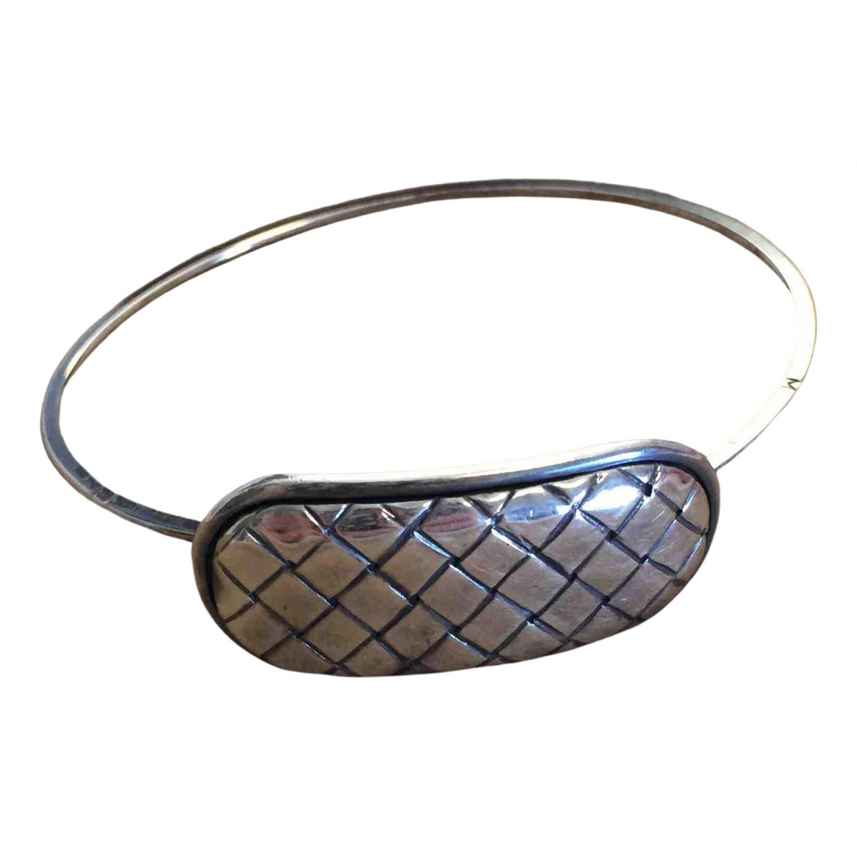 Bottega Veneta - Bracelet   pour femme en argent - argente