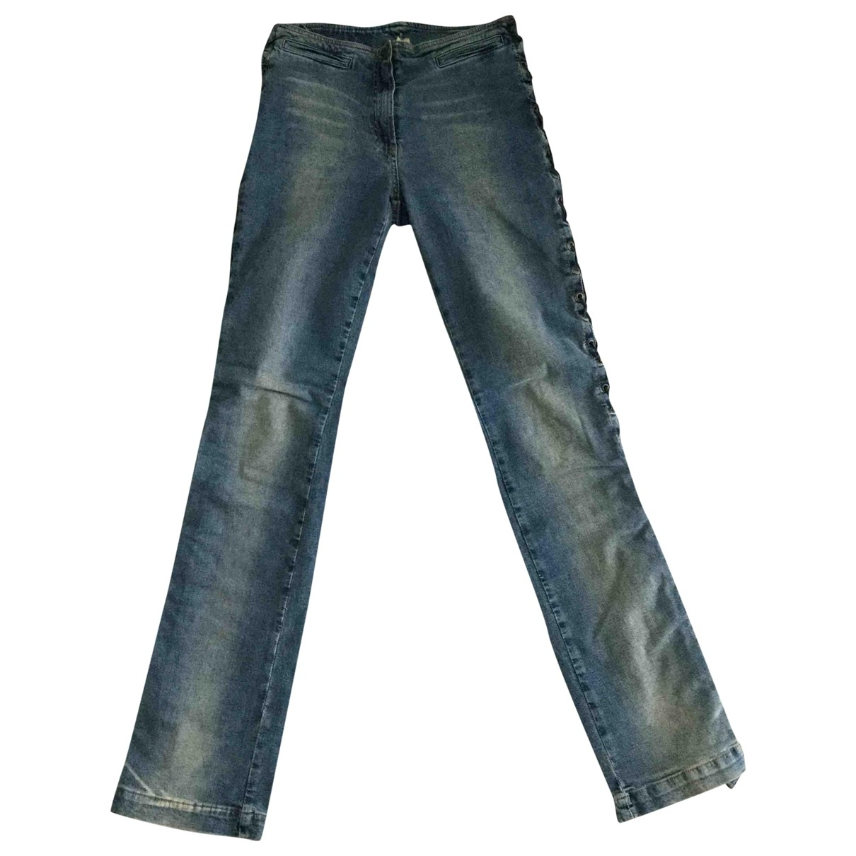 Plein Sud \N Cotton - elasthane Jeans for Women 34 FR