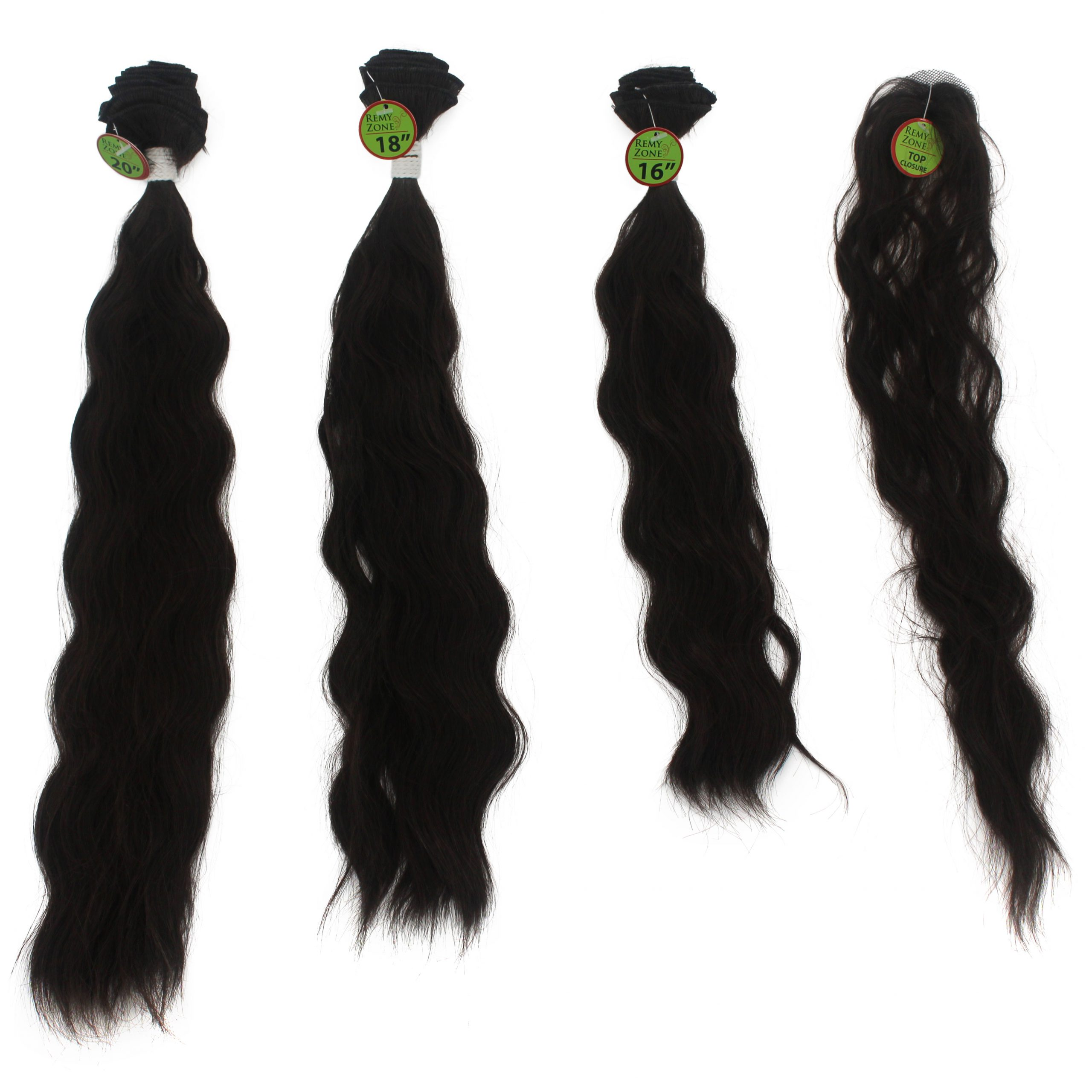 NATURAL WAVE 3PCS 16inch+18inch+20inch - 4