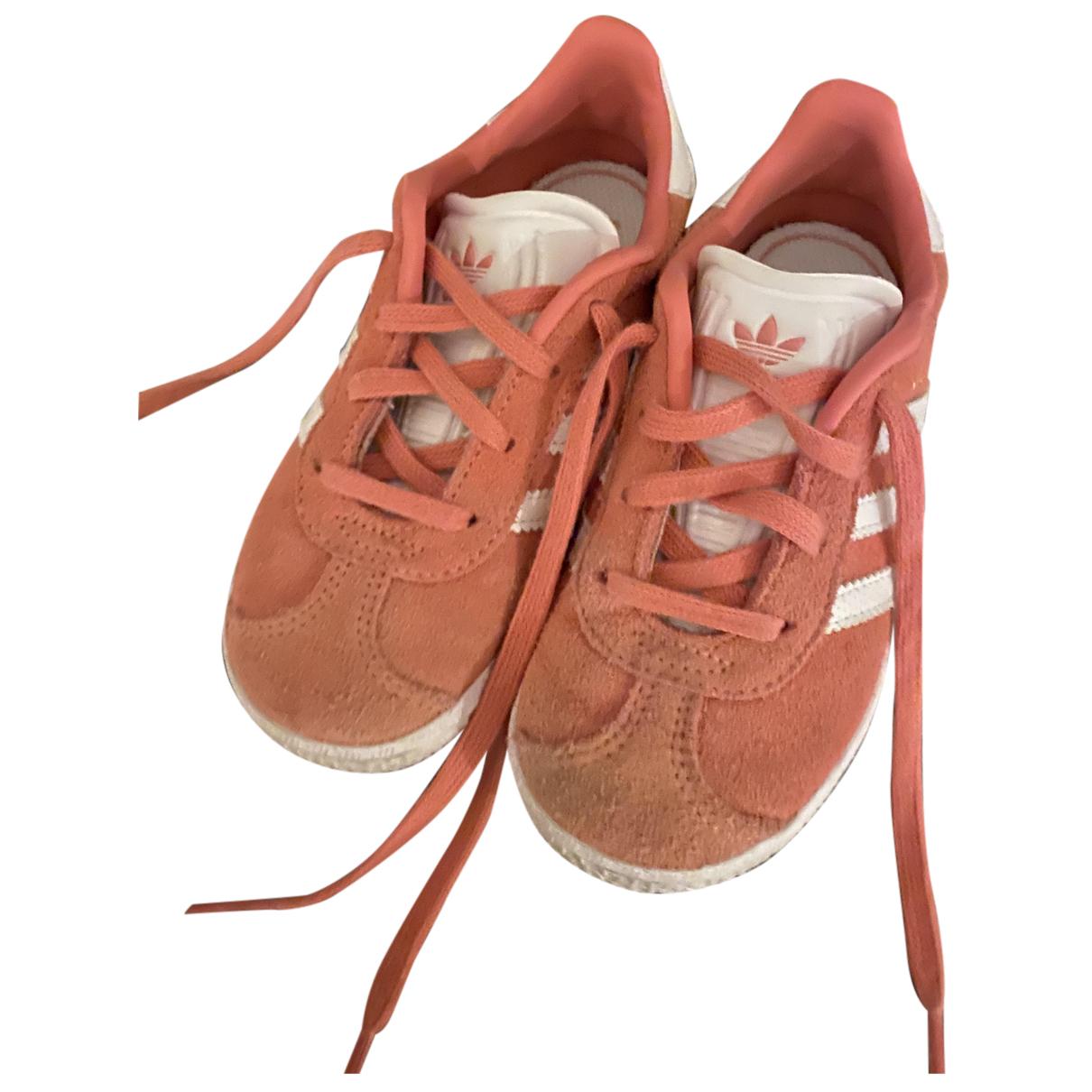 Adidas - Bottes.Bottines Gazelle pour enfant en cuir