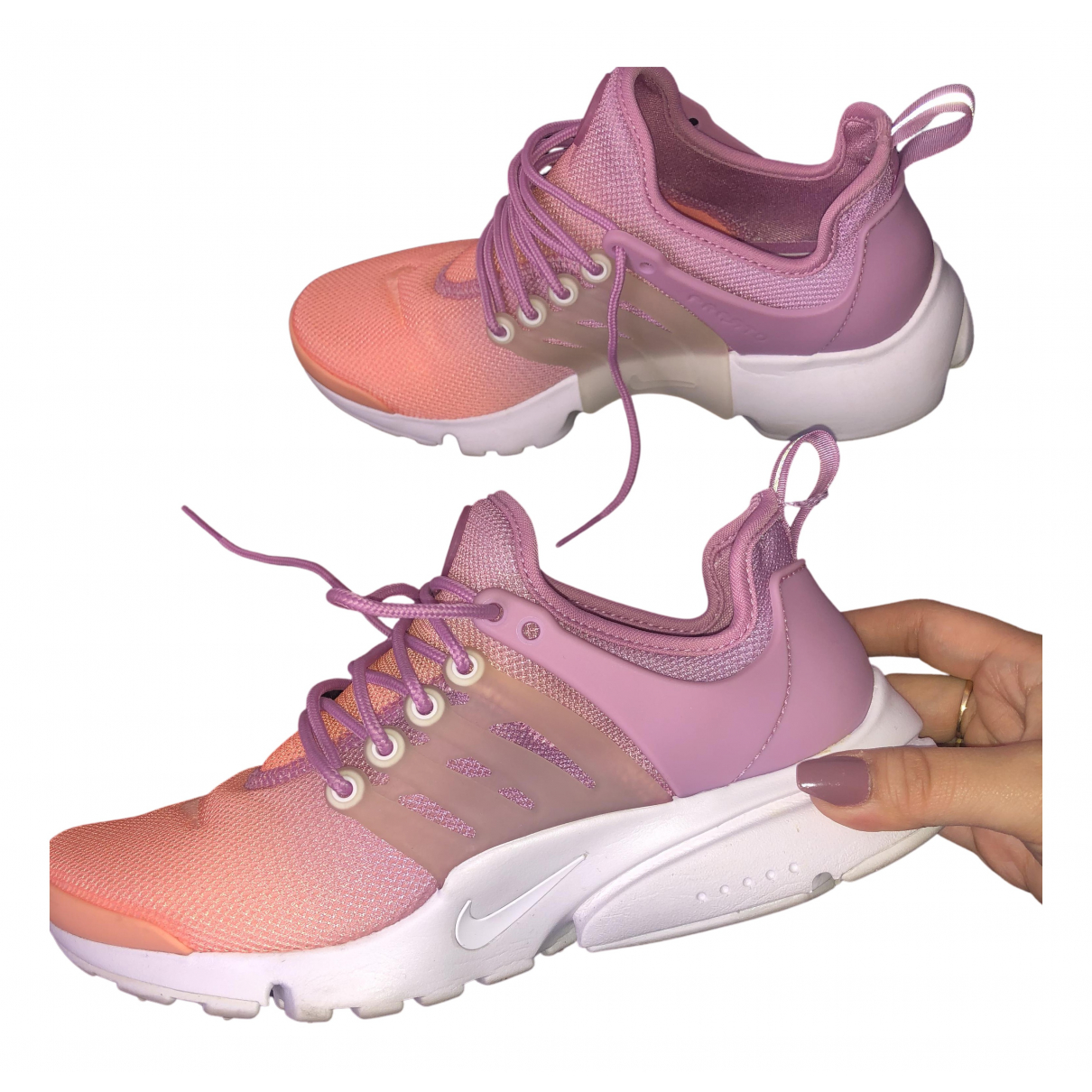 Deportivas Air Presto de Lona Nike