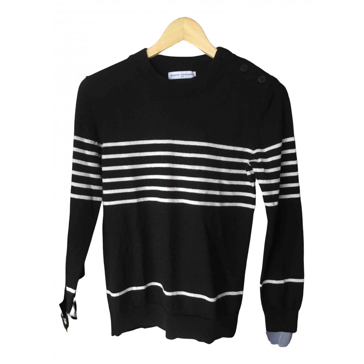 Maison Standards \N Pullover in  Schwarz Wolle