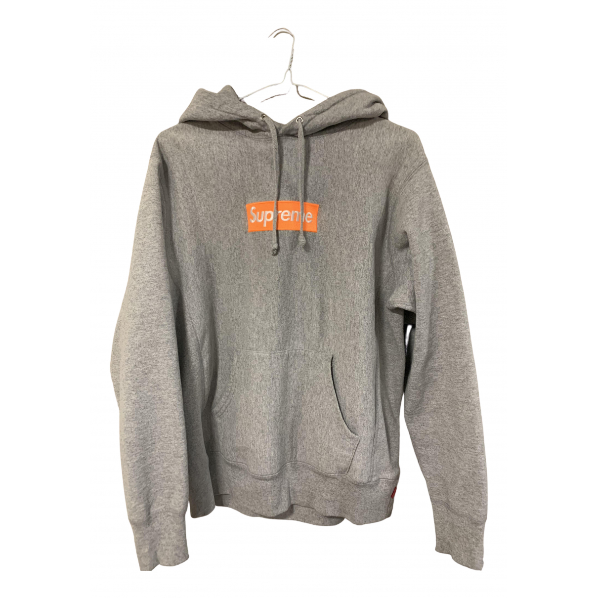 Supreme \N Grey Cotton Knitwear & Sweatshirts for Men S International
