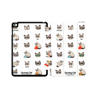 Apple iPad mini 4 Tablet Smart Case - Grumpy Cat Pattern von Grumpy Cat