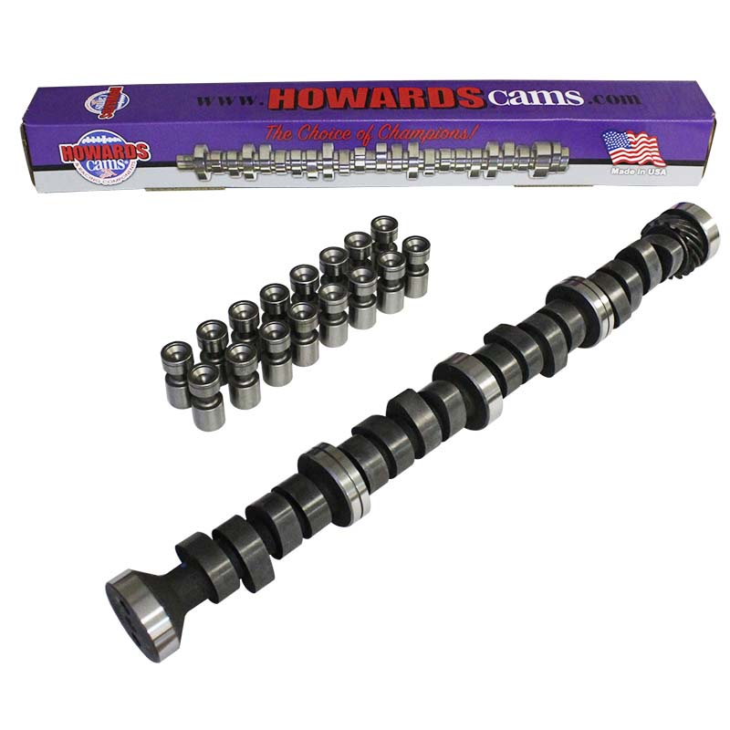 Mechanical Flat Tappet Camshaft & Lifter Kit; 1963 - 1977 Ford 352-428 2400 to 6400 Howards Cams CL251262-08 CL251262-08