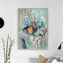 Diamand Malerei mit abstraktem Muster ohne Rahmen