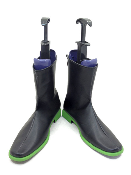 Milanoo The Irregular At Magic High School Shiba Tatsuya Black Cosplay Shoes