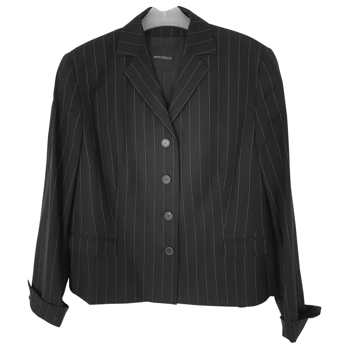 Windsor \N Anthracite jacket for Women 44 FR