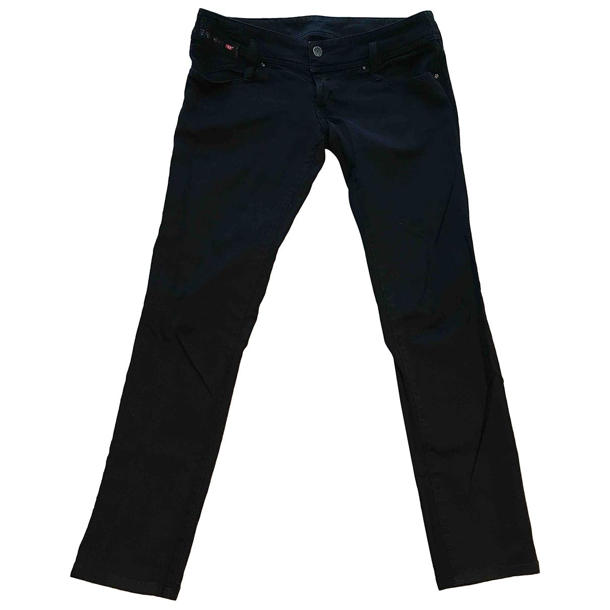 Diesel \N Black Denim - Jeans Jeans for Women 28 US