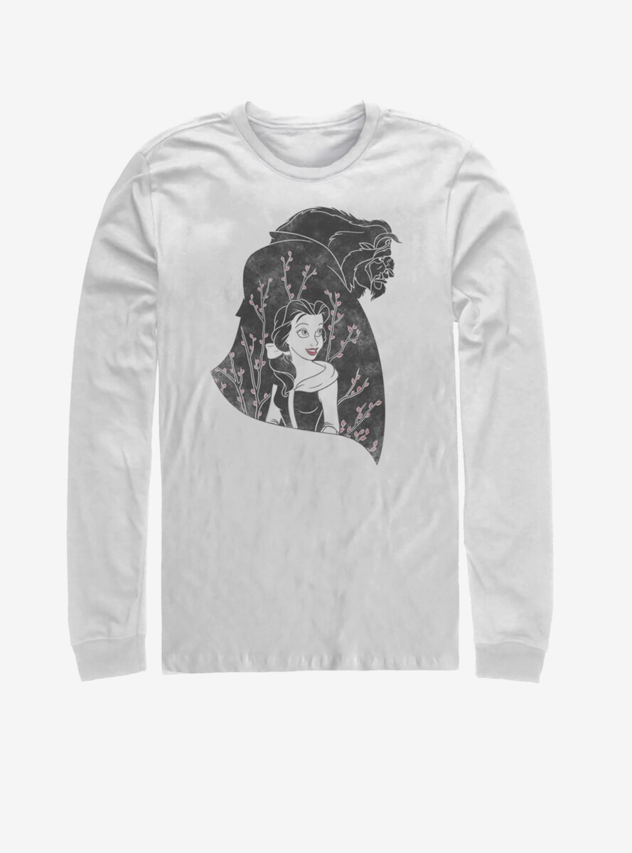 Disney Beauty and the Beast In My Heart Long-Sleeve T-Shirt